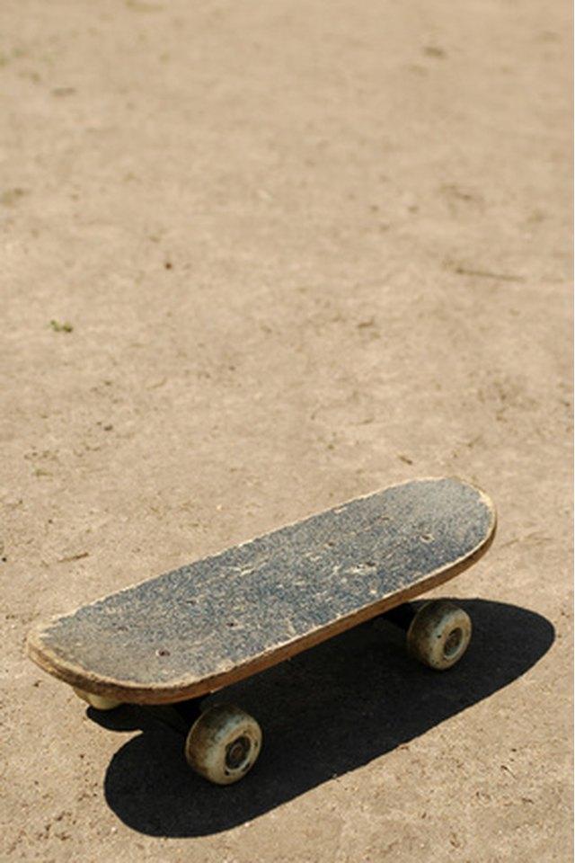 How to Sand a Skateboard