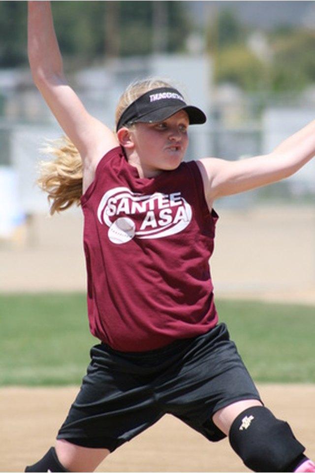 Girls Little League Softball Pitching Rules