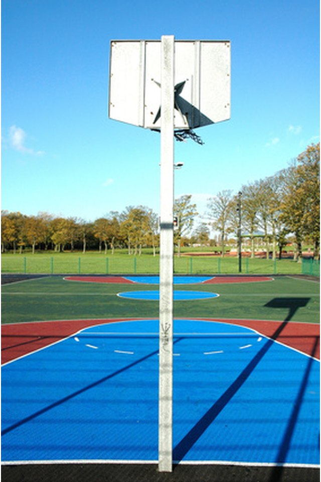 How to Take Apart Steel Basketball Posts