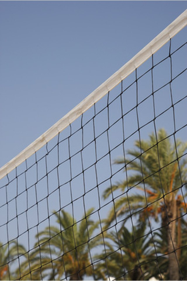 Distance Specifications for Volleyball Net Pole Setup