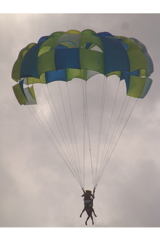 Materials Used to Make Parachute Canopies