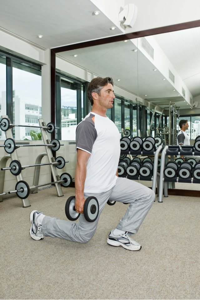 Lunges Versus Stair Climbing