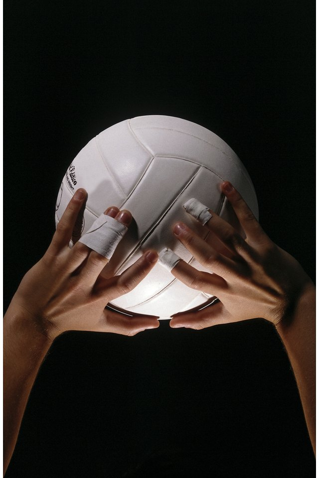 The Best Way to Tape Your Fingers for Volleyball