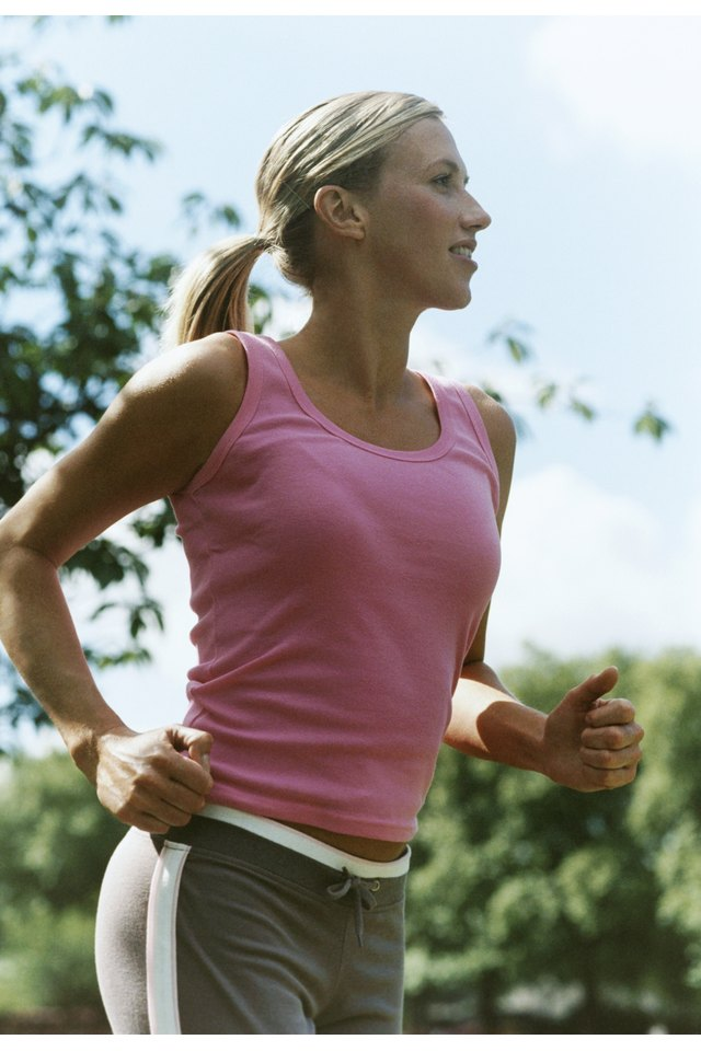 What Parts of the Body Work While Running?