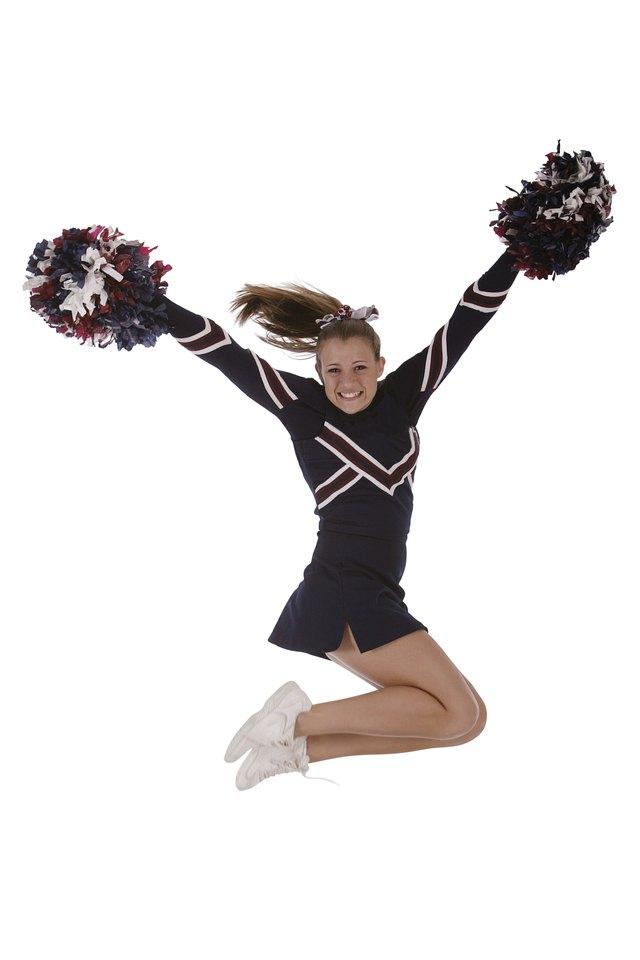 How to Make Crepe Streamer Pom Poms for Cheerleading