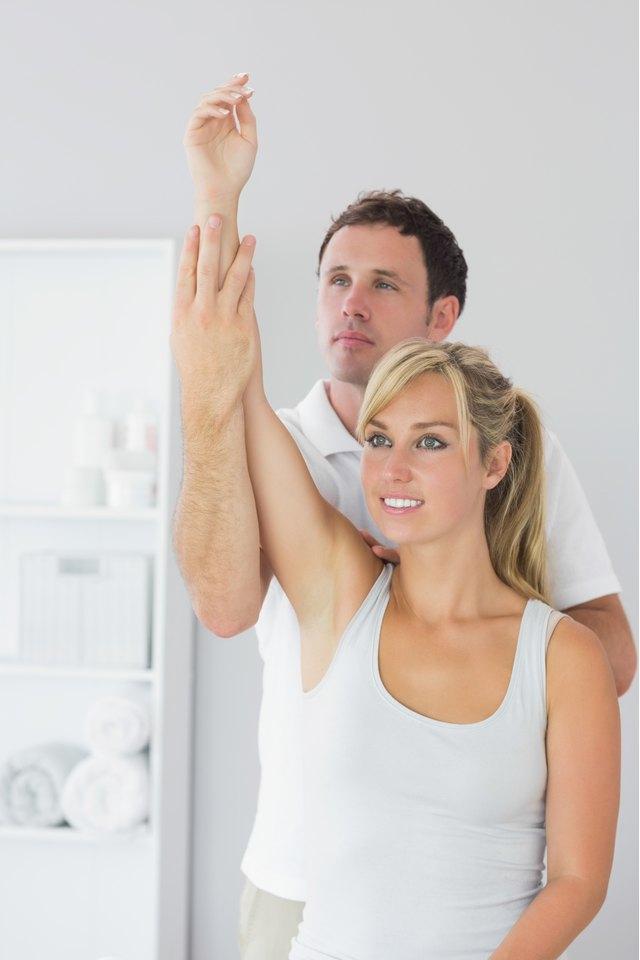 Internal Shoulder Rotation Stretches