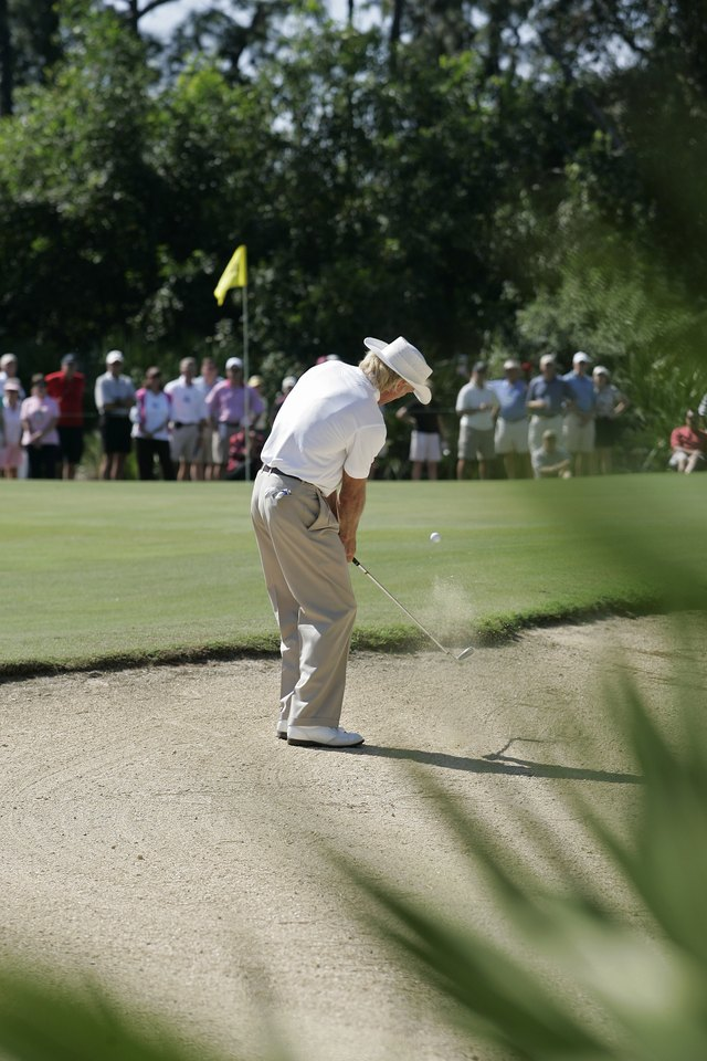 Techniques for Getting Out of Hard-Packed Sand Bunkers