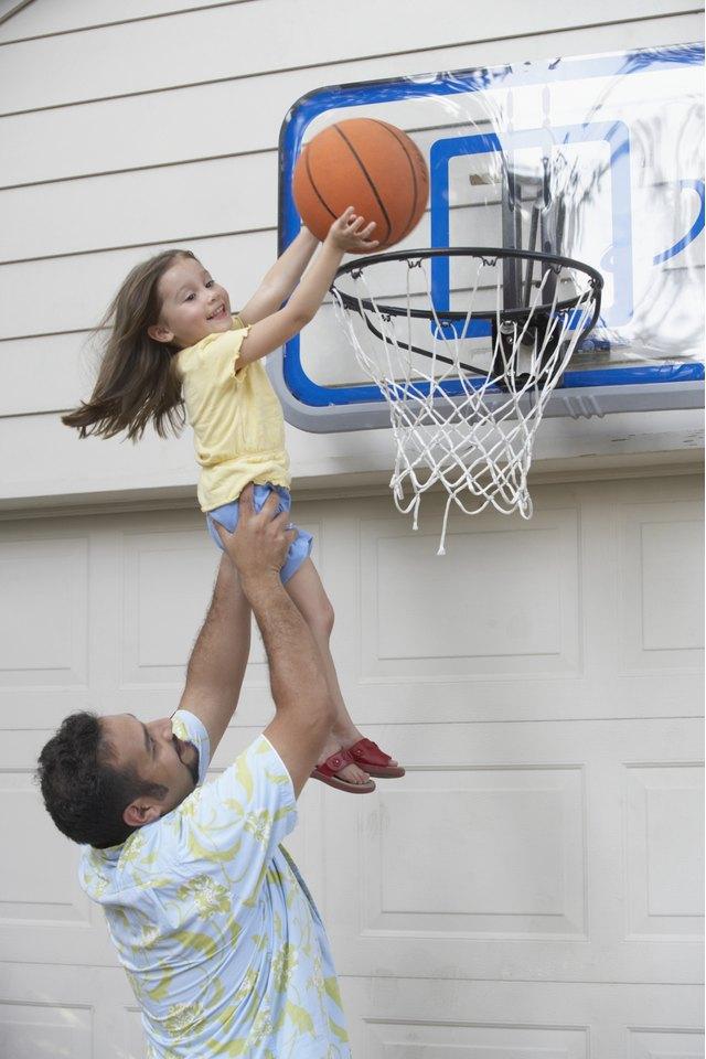How to Repair a Basketball Backboard