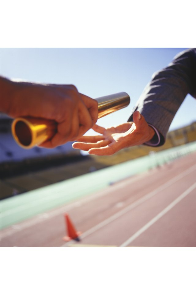 How to Pass a Relay Baton