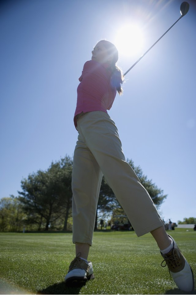 Elbow to Elbow Golf Swing