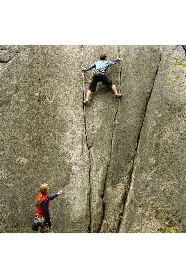 Rock Climbing Shape vs. Bodybuilding