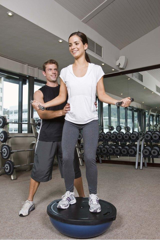 Bosu Ball Ankle Exercises
