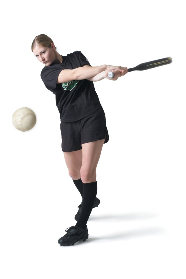 How to Hit a Softball With Power