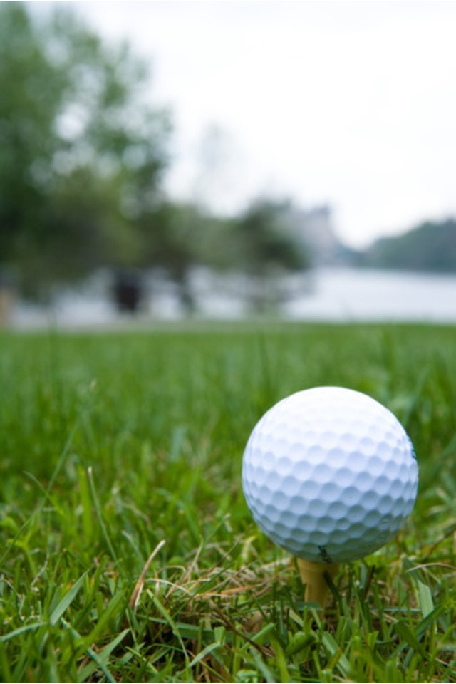 Golf Rules When a Practice Swing Accidentally Strikes the Ball