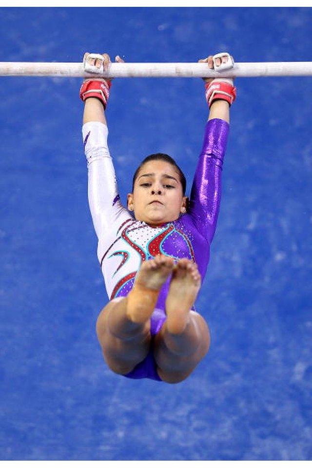 Gymnastic Bar Kip Exercises