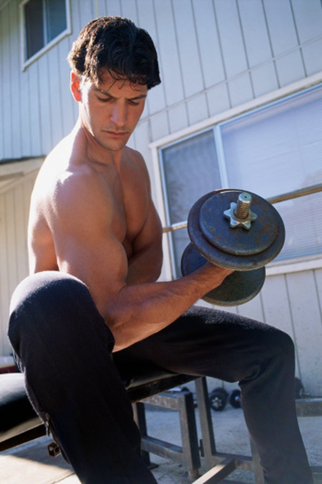 How to Strengthen the Arm Muscles