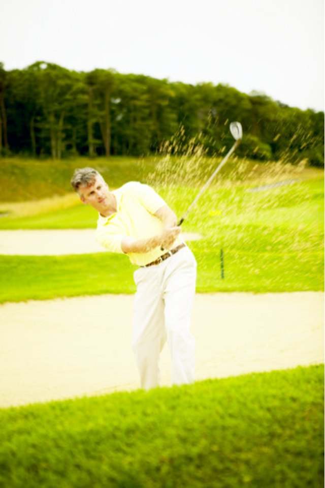 Drills for Keeping Your Head Down During Golf Swings