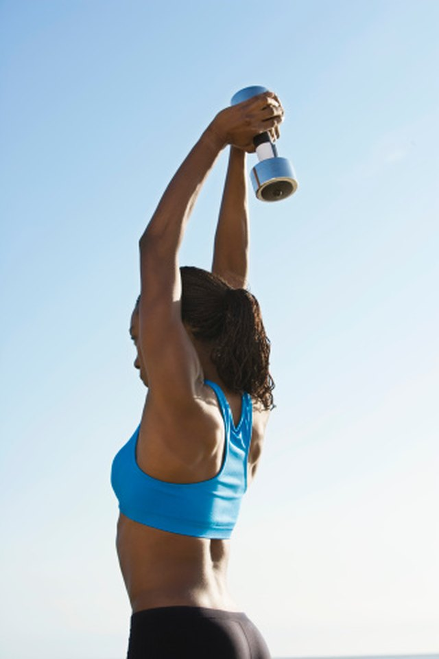 What Is the Exercise When You Lift a Dumbbell Behind You?