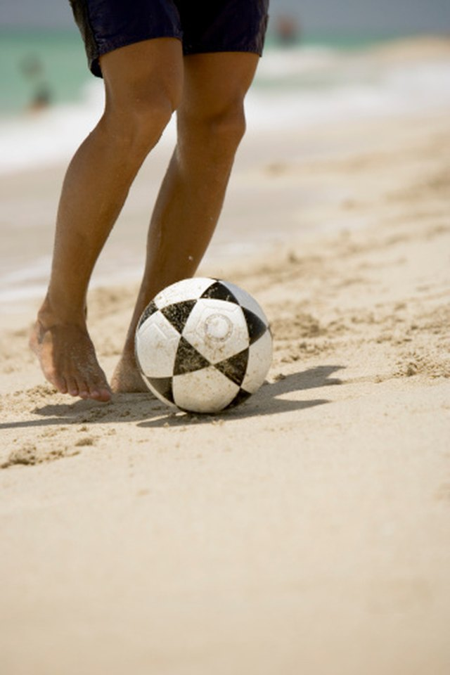 Tips on Coaching Beach Soccer