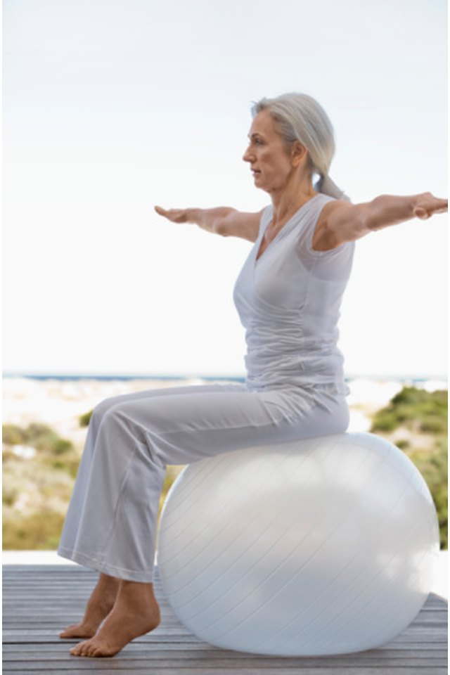 Exercise Ball SI Joint Exercises