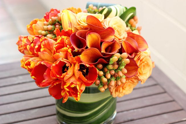 [Article Image] - Easy Hostess Gift: Floral Arrangement