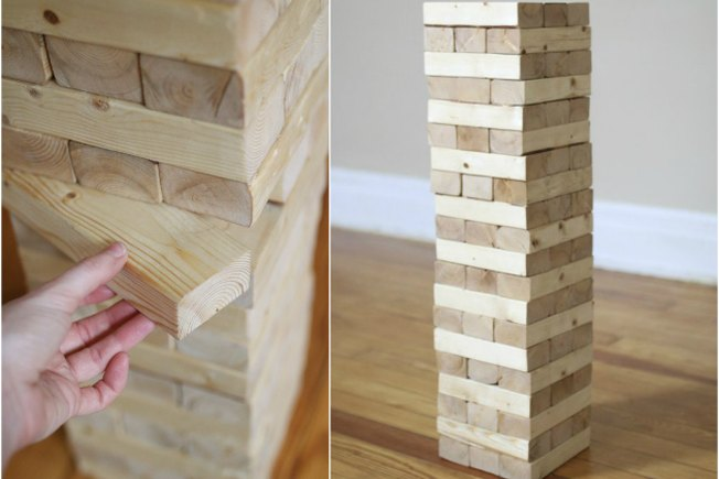 [Article Image] - How to Make a Giant Jenga Game