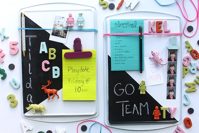 [Article Image] - Turn a Cookie Sheet Into a Memo Board