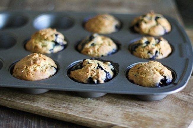 [Article Image] - Classic Blueberry Muffins