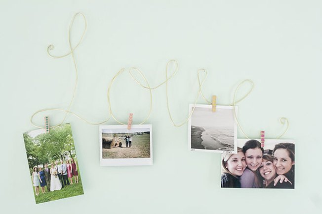 [Article Image] - Make a L-O-V-E Photo Display
