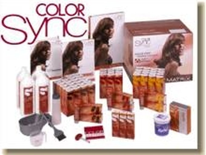 How To Use Matrix Color Sync Hair Color On Gray Hair Leaftv