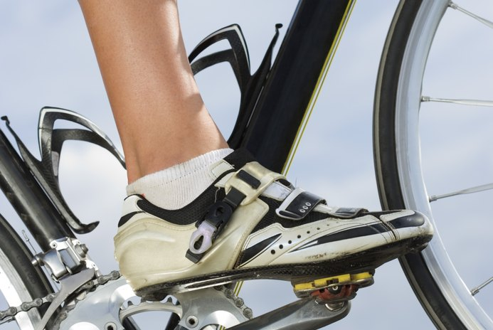 Proper Foot Placement on a Bike Pedal