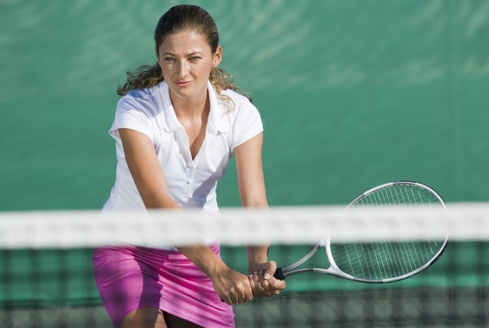 A Tennis Racket Grip Size for Beginners