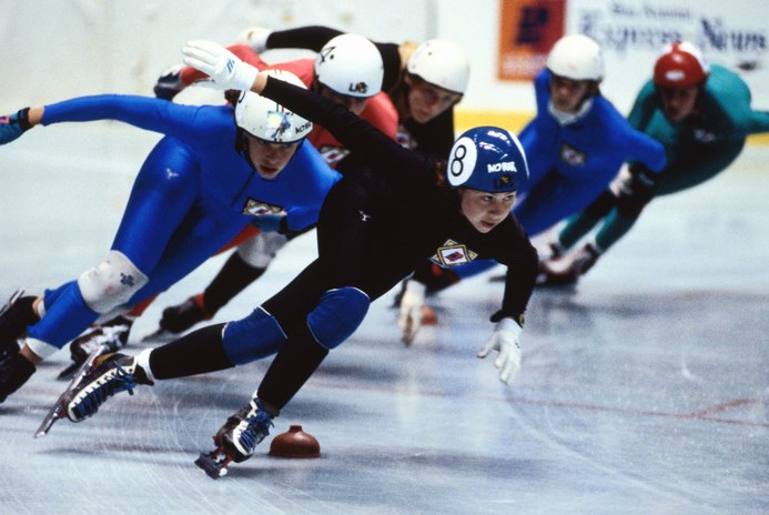 Resistance Training for Speed Skating to Strengthen Your Abductors