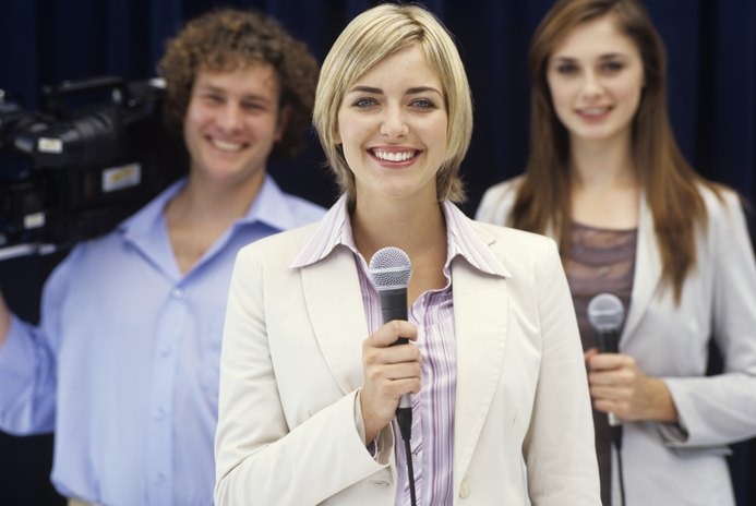 How to Develop a Slide Presentation for a Career in Sports Announcing
