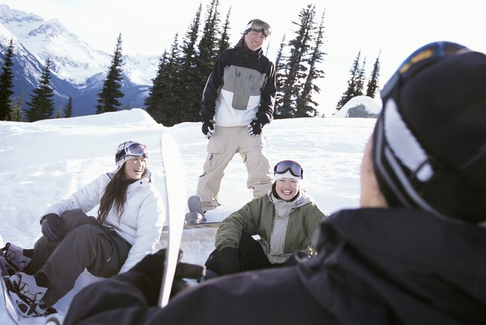 Swollen Butt From a Snowboard Fall
