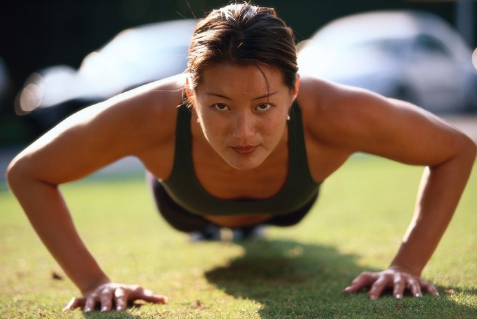 What Parts of the Arms Do Pushups Work?