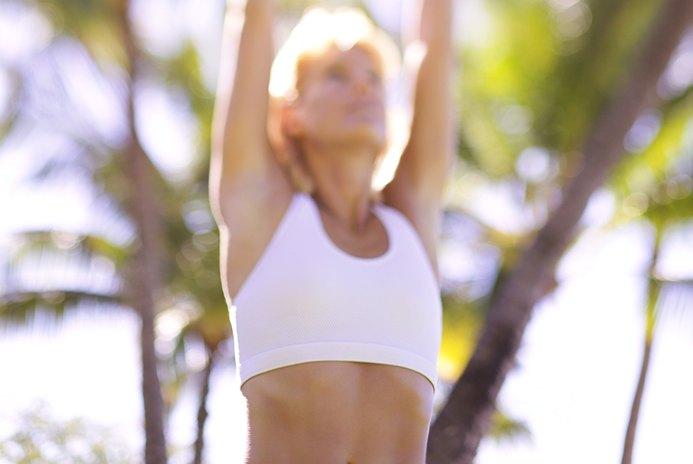 Shoulder Elevation Stretches