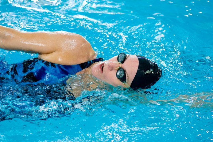 Swimming Fins to Increase Ankle Flexibility