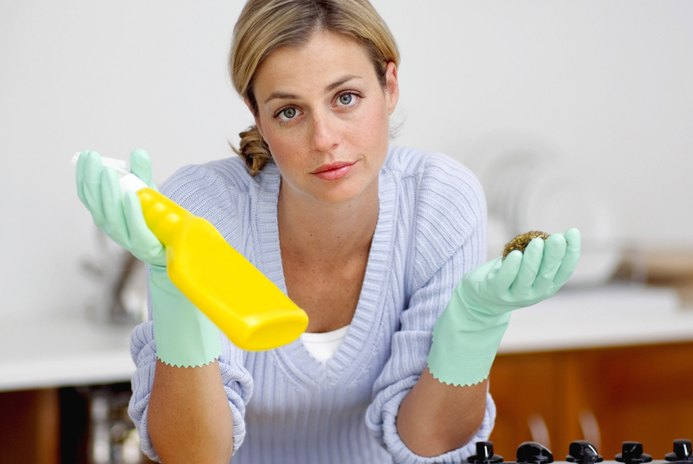 How Much Money Does an Average Family Spend on Cleaning Products in a Year?