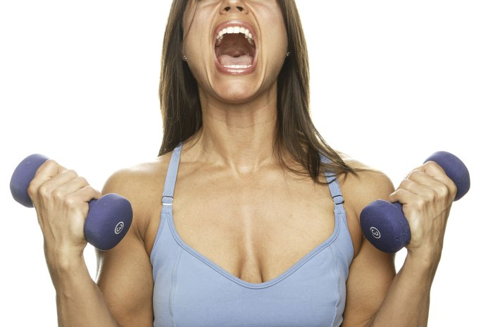 Weight Training Workouts for Women's Arms