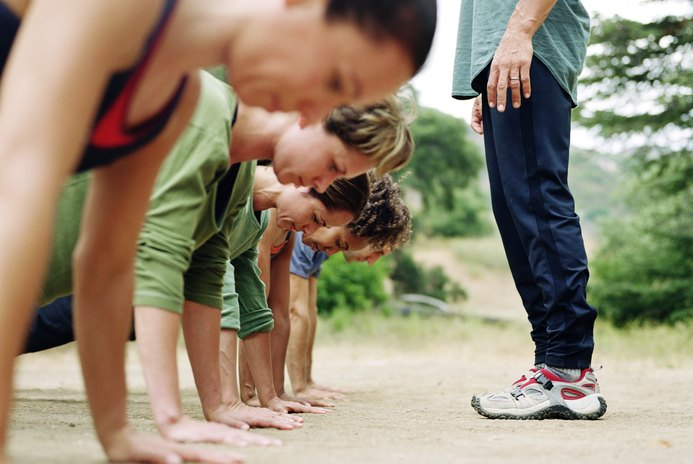 Fitness Boot Camp Workout Plans