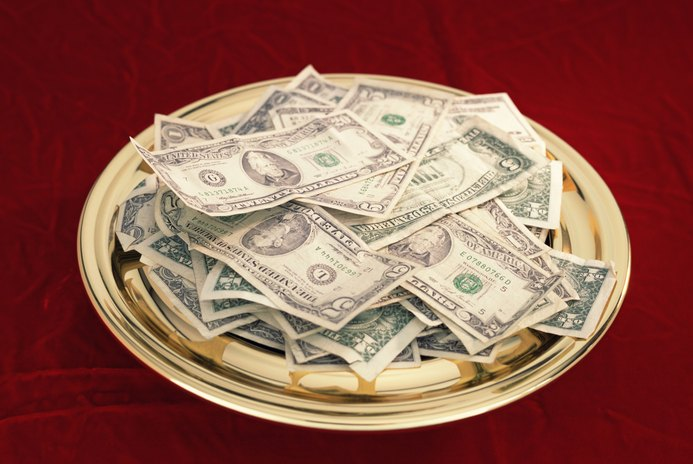 What Deduction Do Church Offerings Fall Under?