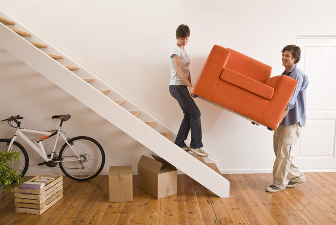 Can I Deduct Moving Expenses & the Standard Deduction Taxes?