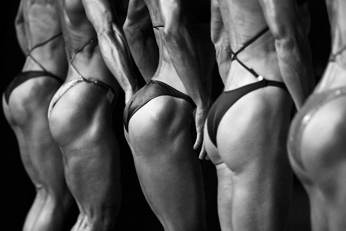 Bodybuilding and Female Glutes