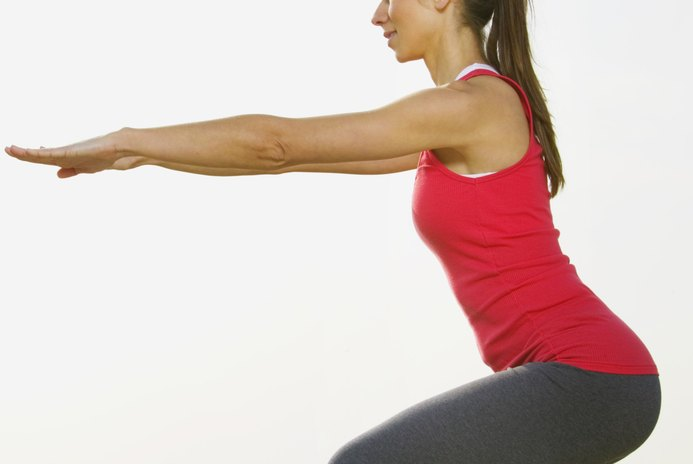The Best Way to Stretch Out Your Back Before Squats