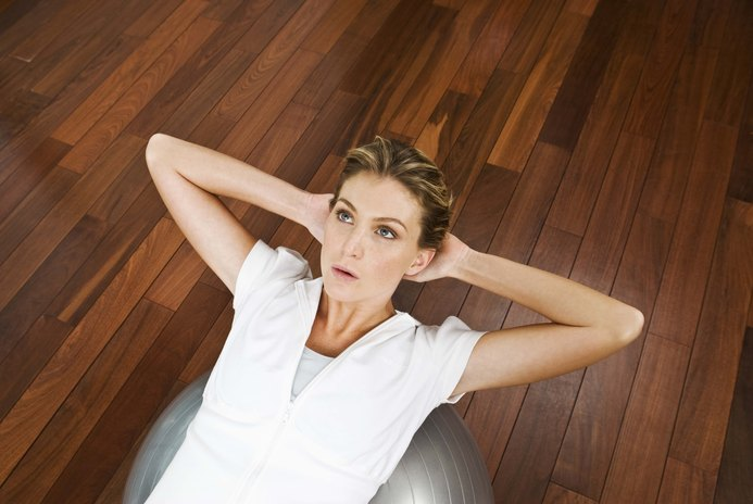 Core Conditioning Exercises With Stability Balls