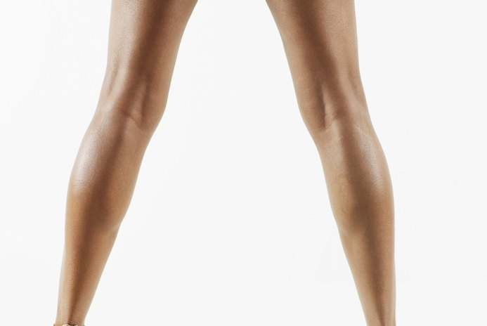 Toned Calf & Thighs Exercises at Home for Women