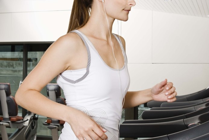 How to Lose Weight on the Treadmill & Slim Your Legs