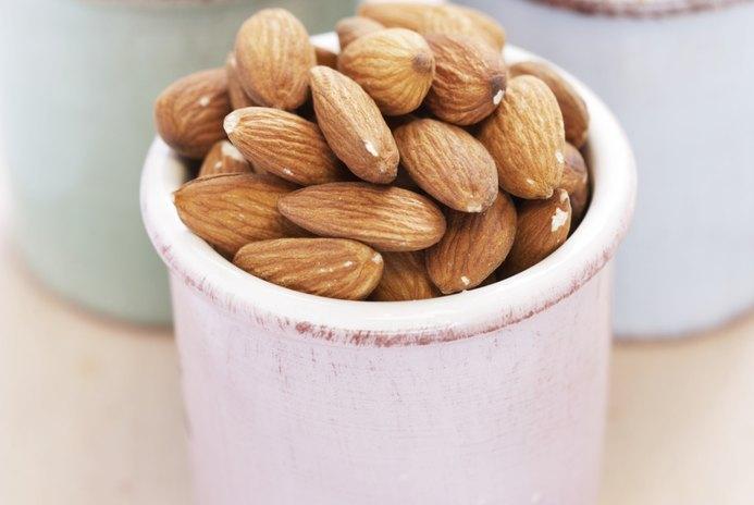 Fat, Carbs & Fiber of Almonds