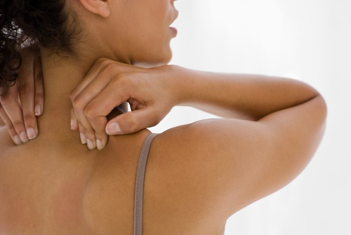 How to Stretch a Knot on Top of Your Shoulder